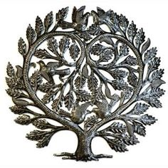 Shop for Handmade Recycled Steel Tree of Life 'Lover's Heart' Wall Art (Haiti). Get free delivery at Overstock.com - Your Online Art Gallery Shop! Get 5% in rewards with Club O! - 13998632
