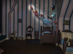 First Look: New Magic Added to Peter Pan's Flight at Disneyland Park