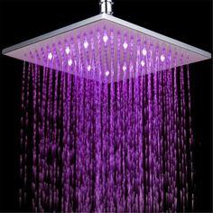 Ceiling Shower Head, Led Shower Head, Rain Shower, Shower Nozzle, Shower Faucet, Cheap Shower Heads, Shower Lighting, Rainfall Shower, Lumiere Led