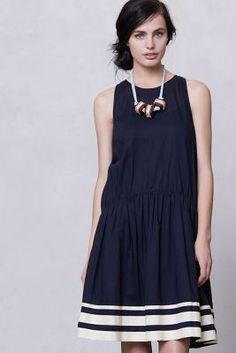 Anthropologie The Day Dress...this looks so cute and comfortable. totally wearable