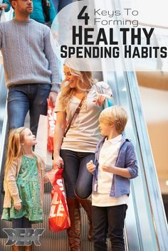4 Keys to Help you Form Healthy Spending Habits, Save Money, and Live Happier! http://www.debtroundup.com/four-keys-forming-healthy-spending-habits/