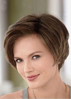 Beautiful Side-Swept Bangs Flattering Bob Style Human Hair Wig by Dressilyme.com
