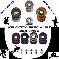 Pro abec 11 608 wheel #bearings #skateboard scooter quad #inline roller skate 9 ,  View more on the LINK: http://www.zeppy.io/product/gb/2/191699898933/