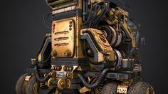 ArtStation - Josh Flores | Obsidian Vehicle Hauler, Media Arts & Animation