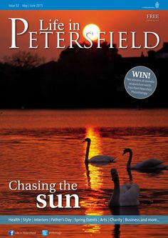 ~ Chasing the sun ~ Life in Petersfield May-June issue, photo by @henryascoli  #locallife #Petersfield #Hampshire #sunset
