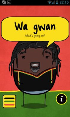 Wha gwan sah? Ever wanted be able to speak like a Jamaican? Well, now you can with dis Jamaican App Ting, the world's most advanced Jamaican app......ting. Just shake or touch the Jamaican on the screen and he will say Jamaica's best phrases like a true Jamaican. Jamaican app ting features 140+ phrases recorded from an actual Jamaican straight from the Island as well as an entertaining animated character to say them. http://itunes.apple.com/ca/app/jamaican-app-ting/id533629215?mt=8
