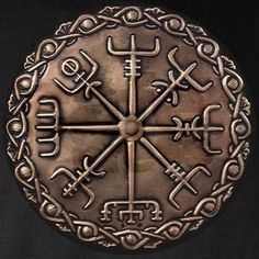 Vegvisir is among the oldest and sacred Norse symbols and it initially originated from Iceland, where 'Vegur' means - road or path and 'Vísir' means – Guide.