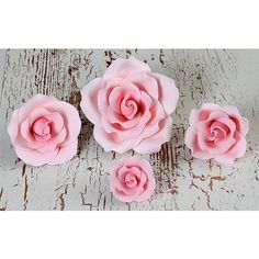 Mixed Size Garden Roses - Pink