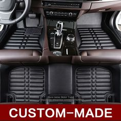 Custom fit car floor mats for Buick Enclave Encore Envision LaCrosse Regal Excelle GT XT 3D car-styling carpet floor liner
