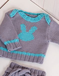 modele pull bebe a tricoter