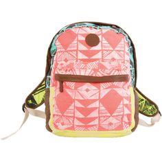Billabong Multicolor Tribal Backpack