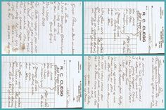 How to turn handwritten recipes into tea towels - Spoonflower blog