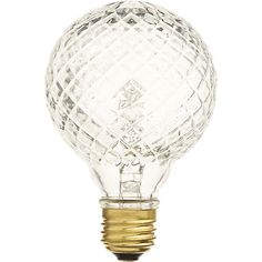 cut glass halogen 40W light bulb in view all lighting | CB2