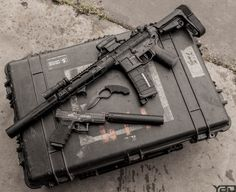 Tools of the trade Zombie Weapons, Weapons Guns, Guns And Ammo, Zombie Apocalypse, Tactical Equipment, Tactical Gear, Tactical Survival, Rifles, Shooting Guns