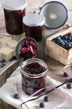 Heidelbeere Marmelade Konfitüre Vanille
