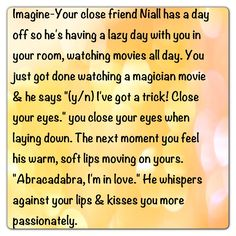 , Niall Imagines on Pinterest | One Direction Imagines, Niall Horan