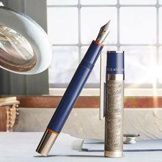 caneta-tinteiro Montblanc em homenagem ao Andy Warhol