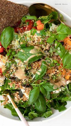 Raw Vegan Recipes, Healthy Salad Recipes, Rainbow Salad, Healthy Skin, Lunch Box, Bento Box, Healthy Skin Tips