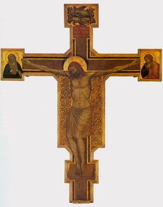 Crucifixion by @artistdibondone #protorenaissance