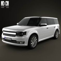 Ford Flex 2013 3d model from humster3d.com. Price: $75