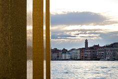 #Mosaic: Aureo Modern  024 - The #Sky Over #Nine #Columns - #Venezia, Isola di #SanGiorgio Maggiore ∙ Italy