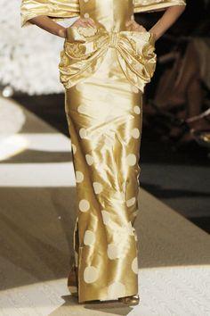 Valentino gold bow!
