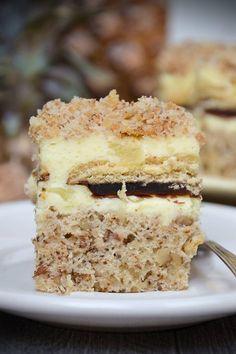 Ciasto szampańskie Keto Recipes, Cake Recipes, Cooking Recipes, Krispie Treats, Rice Krispies, Polish Food, Food Cakes, Ale, Recipies
