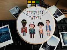 Stranger Things Embroidery Cross Stitch | Gibblesgreetings etsy