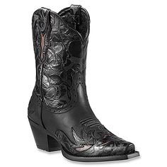 Ariat Dahlia | Women's - Pitch Black/Ebony Floral - FREE SHIPPING at OnlineShoes.com