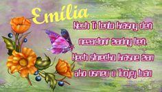 Výsledok vyhľadávania obrázkov pre dopyt blahoželania k meninám Emília