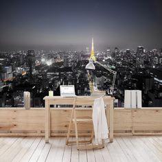 Vliestapete - Tokio - Fototapete Breit