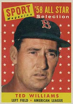 1958 Topps Ted Williams (All Star)