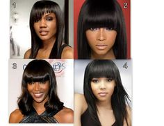 Which style of bang would you wear? www.enhancedlooksbyshantel.mayvenn.com     585.210.9838