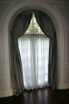 44 best half window images windows curtains arched window curtains rh pinterest com