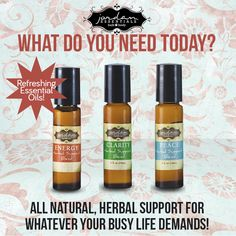 Which Herbal Support Blend do you need today?
