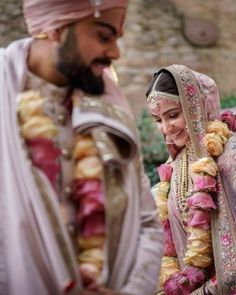 New Virat Anushka Wedding Pictures Are Out Including Their Much Awaited Wedding Teaser - - New Virat Anushka Wedding Pictures are here along with never seen before Wedding Teaser from Tuscany. Indian Wedding Pictures, Indian Wedding Couple, Indian Bride And Groom, Indian Bridal, Pre Wedding Photoshoot, Wedding Poses, Wedding Ideas, Wedding Couples, Bridal Poses