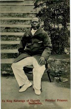 Ex King Kabarega of Uganda in Exile 1914