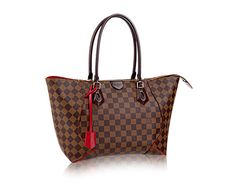 Louis Vuitton Damier Ebene canvas Caissa Tote MM N41548