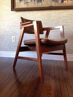 Gunlocke Mid Century Scandinavian Danish Chair by MforModern, $260.00