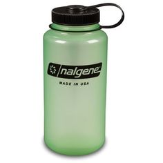 Nalgene BPA Free Tritan Wide Mouth Water Bottle, 1-Quart, 2 Count *** Awesome outdoor product. Click the image : Camping supplies