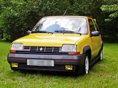 Renault 5 GT Turbo Yellow