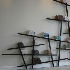 Fabulous Creative Modern Artistic Style Simple Design for a Bookshelf