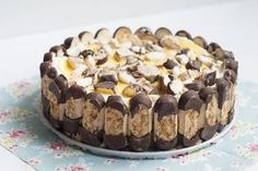 De Beste Recepten: Supersimpele bokkenpootjestaart Dutch Recipes, Sweet Recipes, Baking Recipes, Cake Recipes, Dessert Recipes, Amish Recipes, Just Desserts, Delicious Desserts, Yummy Food