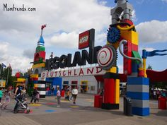 LEGOLAND Germany colorful and cheerful theme park.
