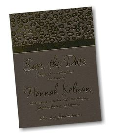 Opulence #Save #the #Date #Card