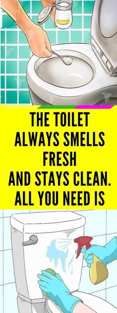 The Toilet Always Smells Fresh And Stays Clean. All You Need Is This - Healthy Magic Tricks Herbal Remedies, Home Remedies, Health Remedies, Natural Remedies, All You Need Is, Told You So, Baking Soda And Lemon, Homemade Toilet Cleaner, Tired Eyes