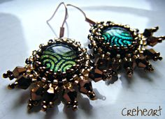 African Jazz Earrings by Gianpiera Conti - Creheart