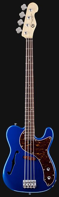 MARUSZCZYK Mr. Tee 'Lake Placid Blue' Hollowbody Custom