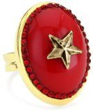 Tarina Tarantino 'Hey Sailor' metal star mod ring #jewelry #nautical #patriotic