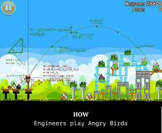 How engineers play angry bird 😂 . webdev webdeveloper javascript programmer coding webdevelopment html php programming developer css webdesigner java code webdesign ruby geek tech technology coder it computer pc softwaredeveloper javascript Computer Memes, Computer Science, Programming Humor, Computer Programming, Web Design, Nerd Humor, Humor Humour, Angry Birds, Just For Laughs
